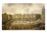 Great Procession in Lille  France  1780