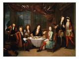 Le Déjeuner De Jambon  Ou Les Musiciens À La Table De Michel Richard Delalande