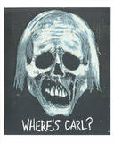 Walking Dead Inspired Art Print: Where's Carl