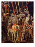 Horsemen  from Battle of San Romano (Depicting Florentine Victory over Sienese in 1432)  C 1455