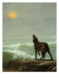 Dog Howling at the Moon  from Les Garde-Côtes Gaulois (Gaulish Coastguards) (Rf 907) (Detail)