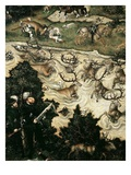 Hunt in Honour of Ferdinand I at Torgau Castle  1545 (Detail)