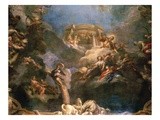 The Apotheosis of Hercules  Ceiling of Hercules Salon  Decorated 1710