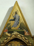 Resurrection of Christ  Central Pinnacle of Holy Trinity Altarpiece with Deposition of Christ  1435
