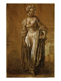 Jeune Fille Debout (Young Girl Standing)  Drawing