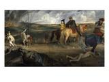 Scène De Guerre Au Moyen-Age  Dit a Tort Les Malheurs De La Ville D'Orléans  Medieval War Scene