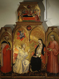 The Annunciation  with Saints Cosmas and Damian  3rd Century Martyrs