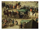 Carriage and Onlookers  from Festival of Our Lady of the Woods  1616 (Detail)