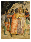 Arrest of Jesus and Judas&#39; Kiss  Fresco 1437-45
