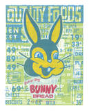 &quot;That&#39;s What I Said&quot; - Bunny Bread Grocery Store Print