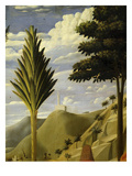 Landscape with White Castle on Hilltop  from the Deposition of Christ  1435  from Holy Trinity