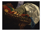 Basket of Wools Held by Mme Manet  from Monsieur Et Madame Auguste Manet