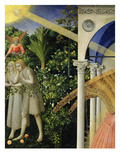 Adam and Eve Expelled from Paradise  from the Annunciation  1430-35 Altarpiece