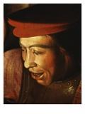 Man's Face  from Le Reniement De Saint Pierre (Saint Peter's Denial of Christ)  1650 (Detail)
