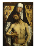 Dead Christ Supported by the Virgin Mary  C1480