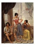 Groupe De Bohémiens Du Pays De Bitche (Group of Gypsies from the Bitche Region of France)