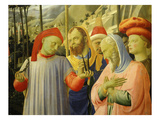Doctors of the Church  from the Deposition of Christ  1435  from Holy Trinity Altarpiece (Detail)