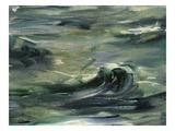 Waves  from L'Evasion De Rochefort  Rochefort's Escape  1880-81  Detail