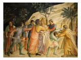 Arrest of Jesus and Judas&#39; Kiss  Fresco 1437-45  Dormitory  Convent of San Marco  Florence  Italy