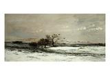Winter  Called Snow (L'Hiver  Dit La Neige)  1873