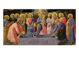The Dormition of the Virgin Mary  from Predella of C 1440