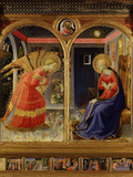 The Annunciation  from C 1440 Altarpiece of Convent of Montecarlo