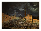 Campo (Main Square)  Siena  Italy  2 April 1739