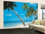 Yikiki Beach Huge Wall Mural Poster Print