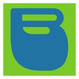 Letter B Blue