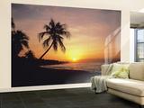 Tropical Sunset Huge Wall Mural Poster Print