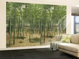 Bamboo Grove Huge Wall Mural Poster Print