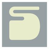 Letter S White