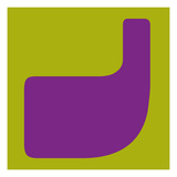 Letter J Purple