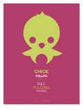 Yellow Chick Multilingual Poster