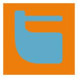 Letter T Blue