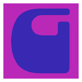 Letter G Blue