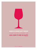 Wine Poster Red