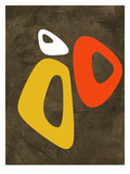 Abstract Oval Shape 3