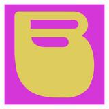 Letter B Yellow