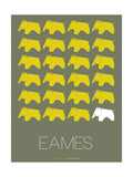 Eames Yellow Elephant Poster 2