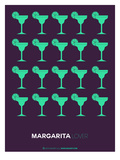 Green Margaritas Poster