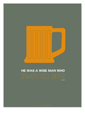 Orange Beer Mug
