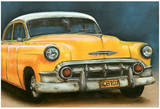Chevrolet Bel Air Jaune