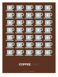 Brown Coffee Poster