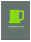 Green Beer Mug