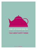 Tea Poster Pink