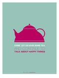 Tea Poster Pink