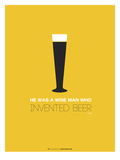 Beer Glass Yellow