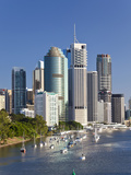 Brisbane Skyline  Queensland  Australia
