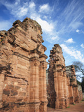 Ruins of Mission at San Ignacio Mini (UNESCO World Heritage Site)  Misiones  Argentina